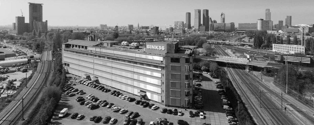 BINK 36  nieuw atelier voor MDB te 's Gravenhage